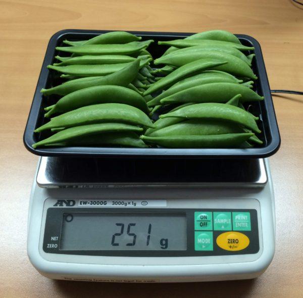 sugar snaps prepack guatemala elbefruit
