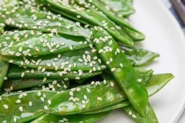 sesam snow peas elbefruit