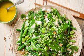 grüner Salat-Elbefruit